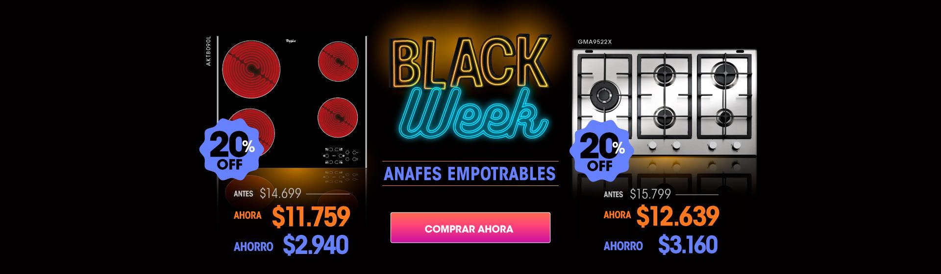 anafe black desktop