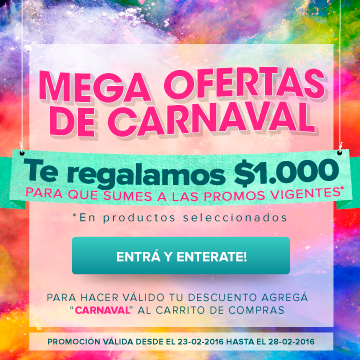 cupon Carnaval
