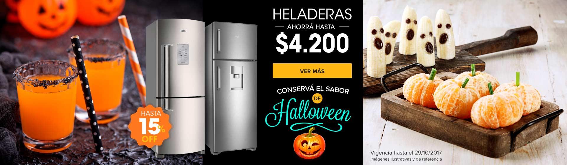 Heladeras Madres halloween