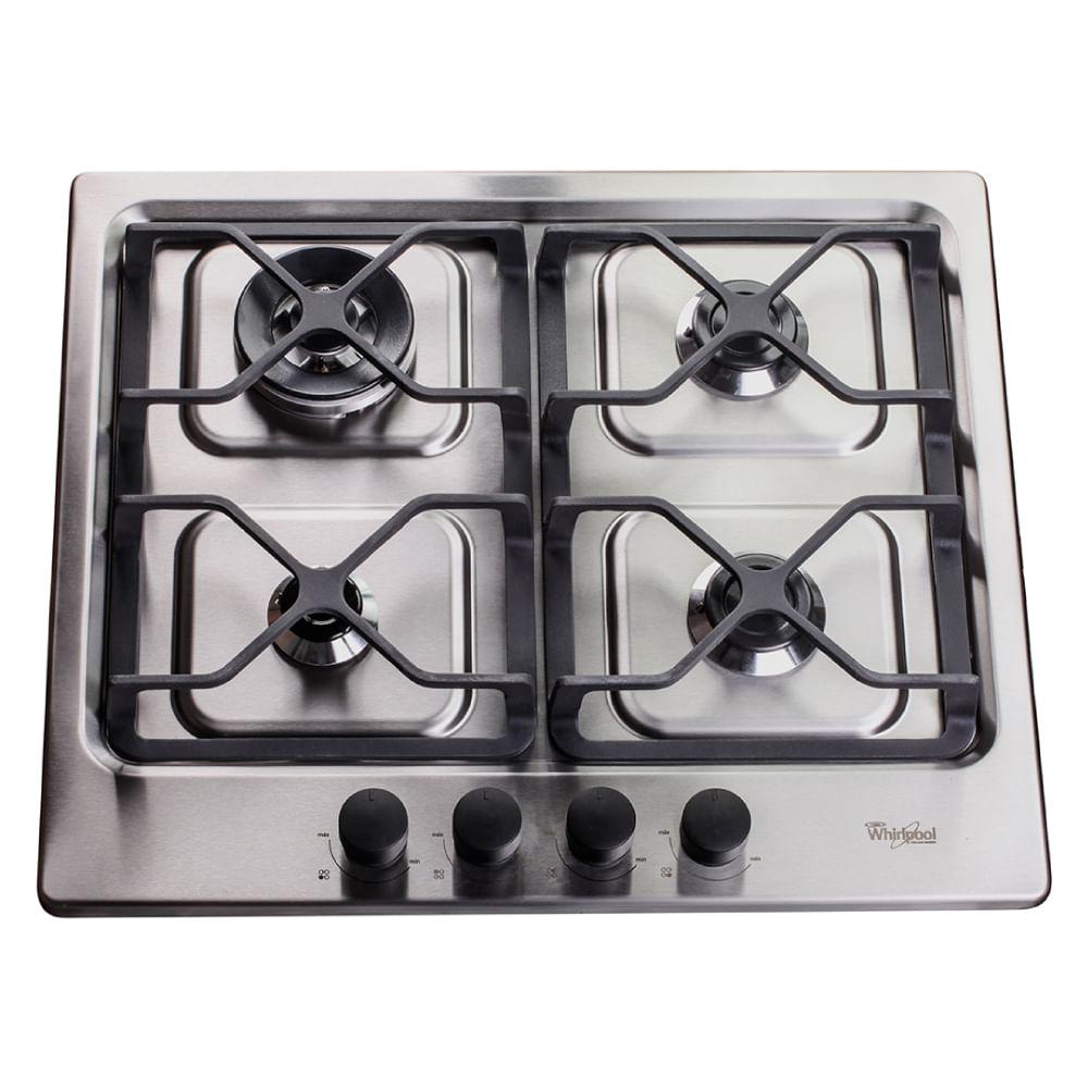 Anafe a gas con encendido electr nico whirlpool for Encendido electronico cocina whirlpool